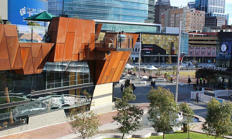 Yagan Square awarded two honours at the 2019 National Landscape Architecture Awards