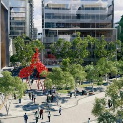 Artist Impression Kings Square