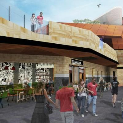 Artist Impression Of Horseshoe Lane At Yagan Square