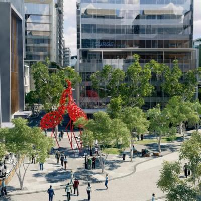 Artist Impression Of Kings Square