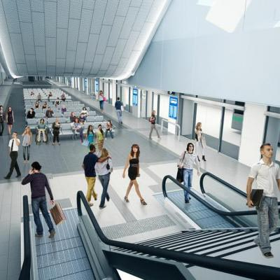 Artist Impression Of Underground Perth Busport Image Courtesy Of Public Transport Authority