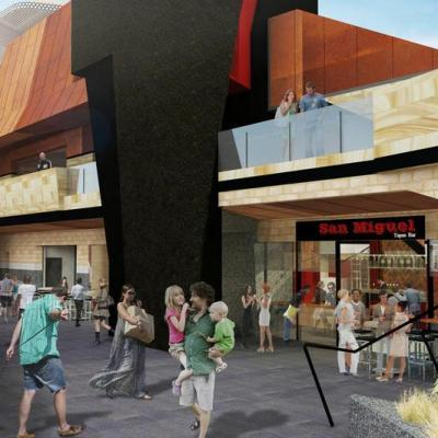 Artist Impression Of Yagan Square Horseshoe Lane