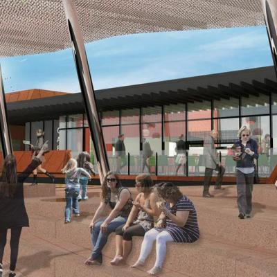 Artist Impression Of Yagan Square The Meeting Place Restaurant