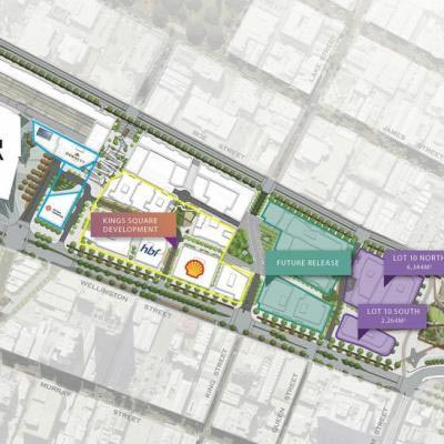 Perth City Link Lot Plan