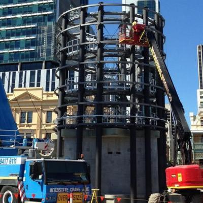 Yagan Square Digital Tower Under Construction