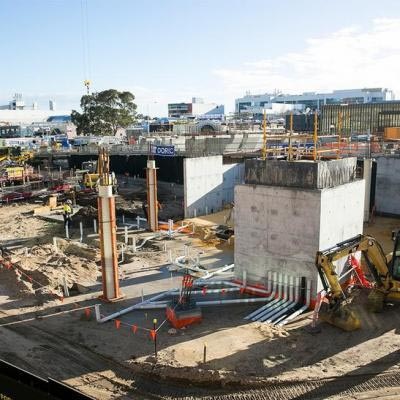 Yagan Square Market Hall And Digital Tower Construction
