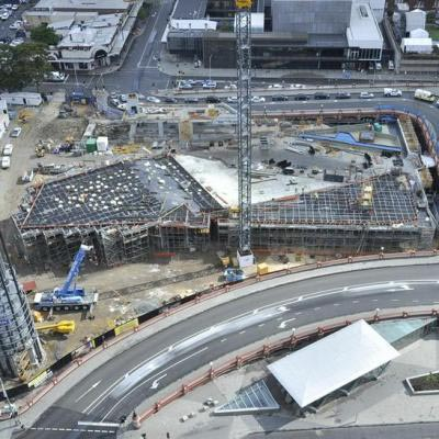 Yagan Square Under Construction 12 December 2016