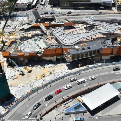 Yagan Square Under Construction 14 December 2017