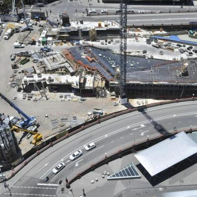 Yagan Square Under Construction 23 November 2016