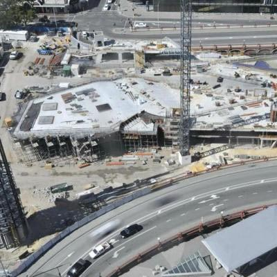 Yagan Square Under Construction January 2017