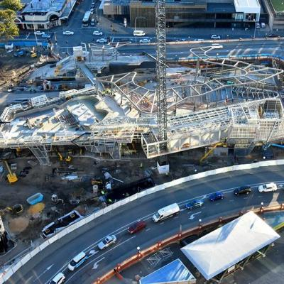 Yagan Square Under Construction June 2017