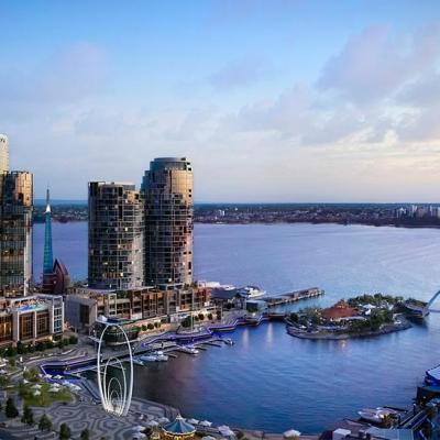 The Ritz Carlton Perth View South Across Elizabeth Quay 1200x720
