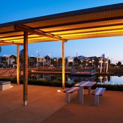 Bbq Facilities Along The Waterfront Are Perfect For Picnics
