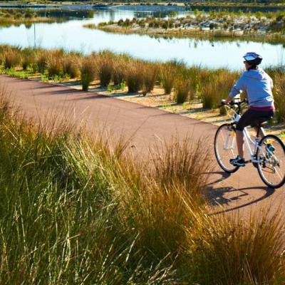 The 5km Pathway Is Perfect For Cycling